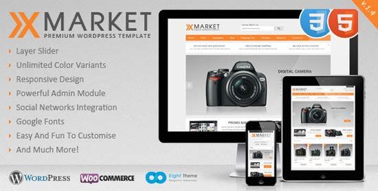 XMarketE-Commerce-Theme