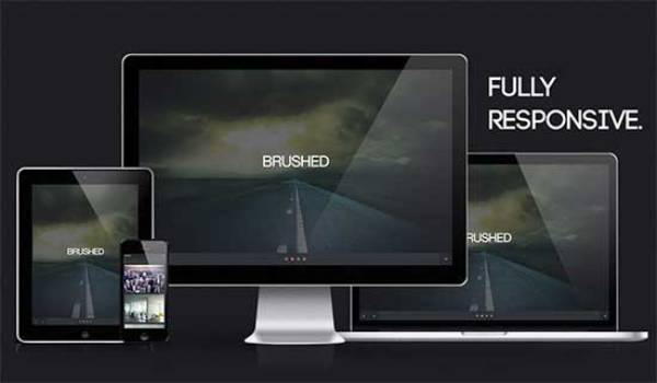 brushed-responsive-template-free