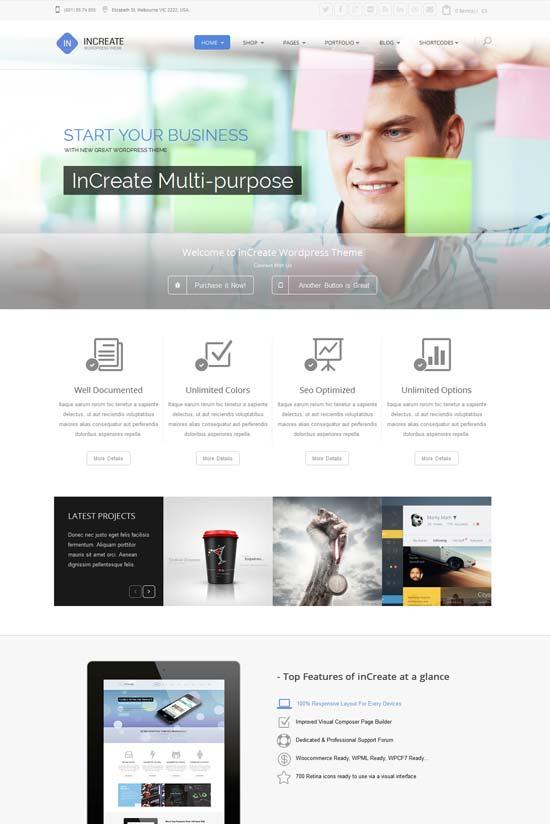 inCreate-best-wordpress-theme-february-2014