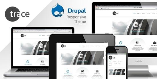 traceresponsiveDrupal