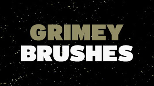 Grimey Brushes