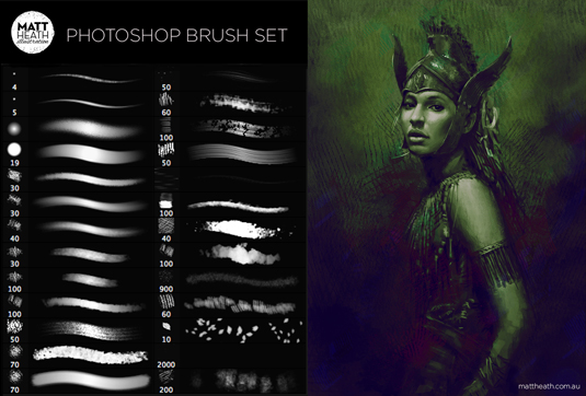 Photoshop brush set
