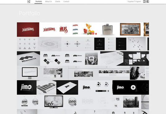 50 excellent web design portfolios for inspiration