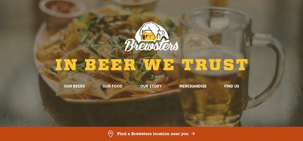 Brewsters Color Filters in Web Design