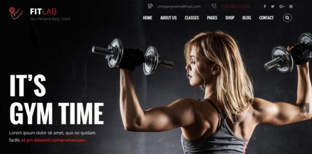 FitLab Health and Beauty HTML Templates