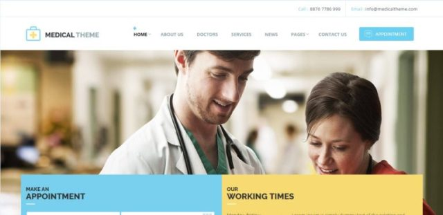 Health & Medical Responsive HTML Template