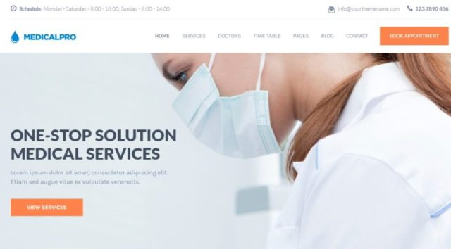 MedicalPRO Health and Beauty HTML Templates