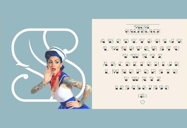 Tattoo Best Free Fonts of 2016