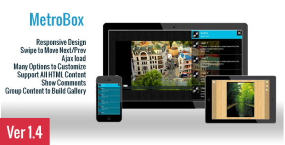 MetroBox – Responsive LightBox