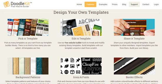 DoodleKit Online Website Builders