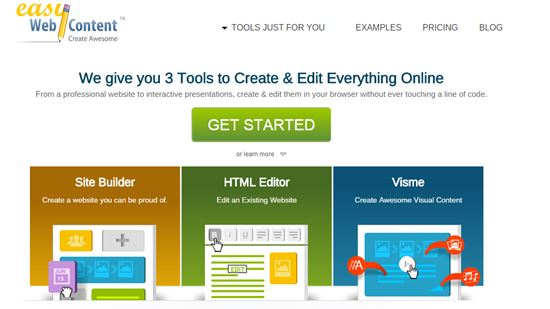EasyWebContent Online Website Builders