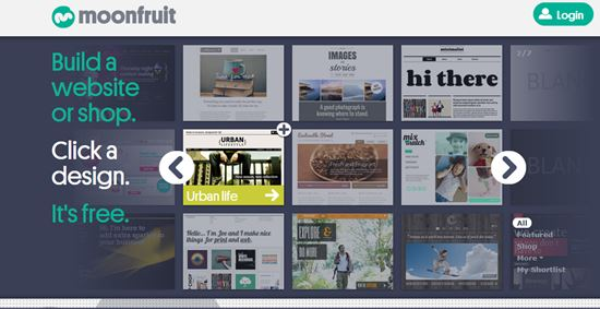 MoonFruit Online Website Builders