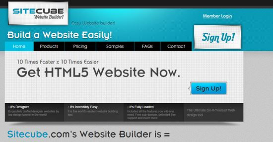 SiteCube Online Website Builders