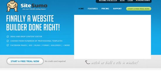 SiteSumo Online Website Builders