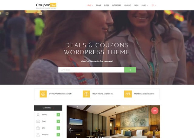 couponhut Affiliate Marketing WordPress Themes