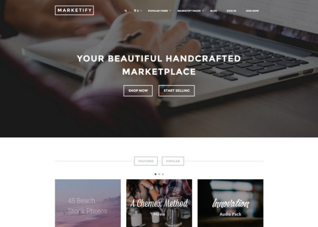 marketify Affiliate Marketing WordPress Themes