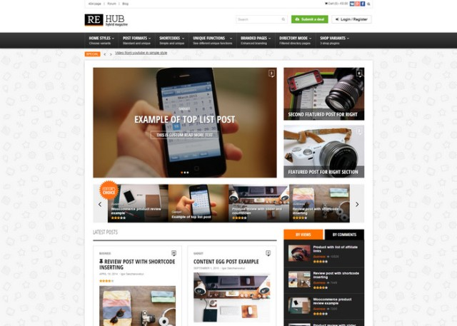rehub Affiliate Marketing WordPress Themes