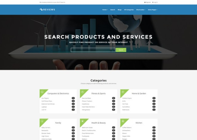 reviews Affiliate Marketing WordPress Themes