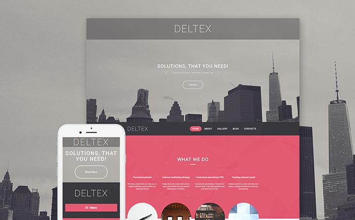 Business Firm WordPress Theme