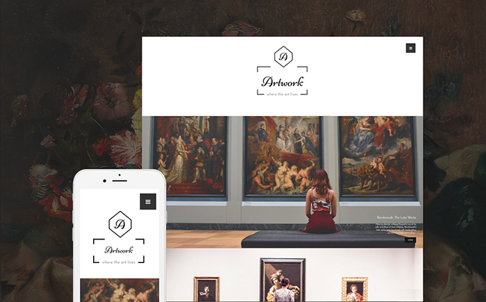 Artwork WordPress Theme