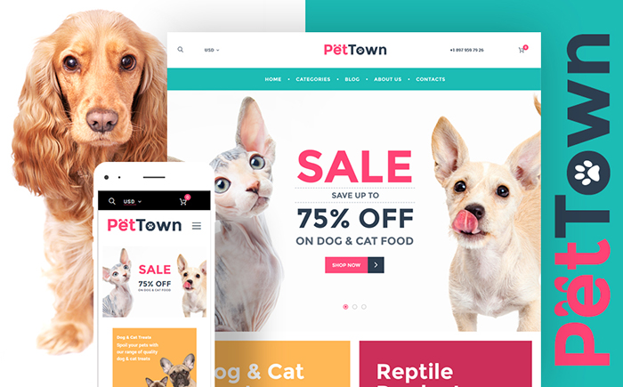 Pet Shop WooCommerce Theme