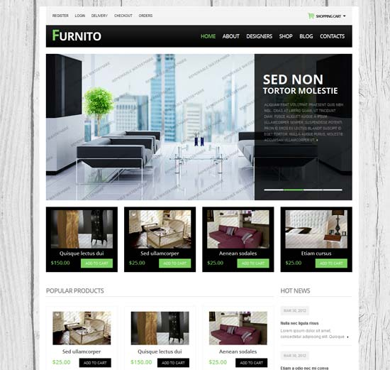 45 Free And Premium Responsive Drupal 7 Themes